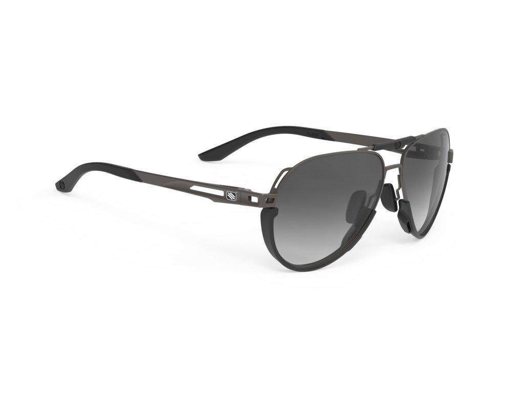 Brýle SKYTRAIL - Gun Matte/Smoke Black Deg