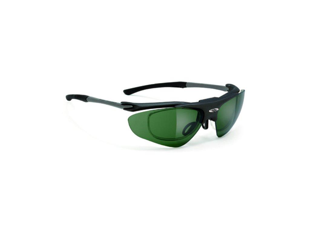 Brýle EXCEPTION Golf - Black/Green