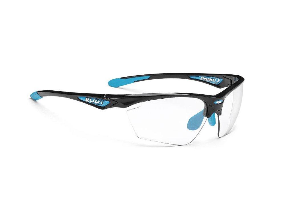 Brýle STRATOFLY - Black gloss/Photoclear