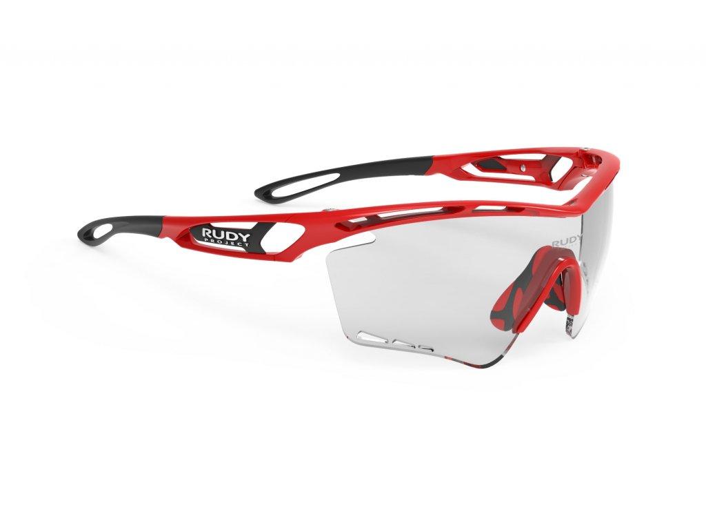 Brýle TRALYX XL - Fire Red Gloss/IMPACTX Photochromic 2Black