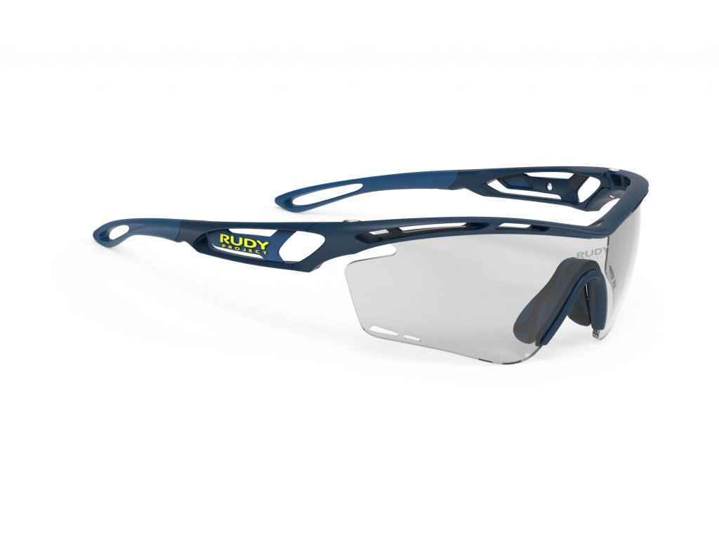 Brýle TRALYX - Blue Navy Matte/ImpactX Photochromic 2 Black