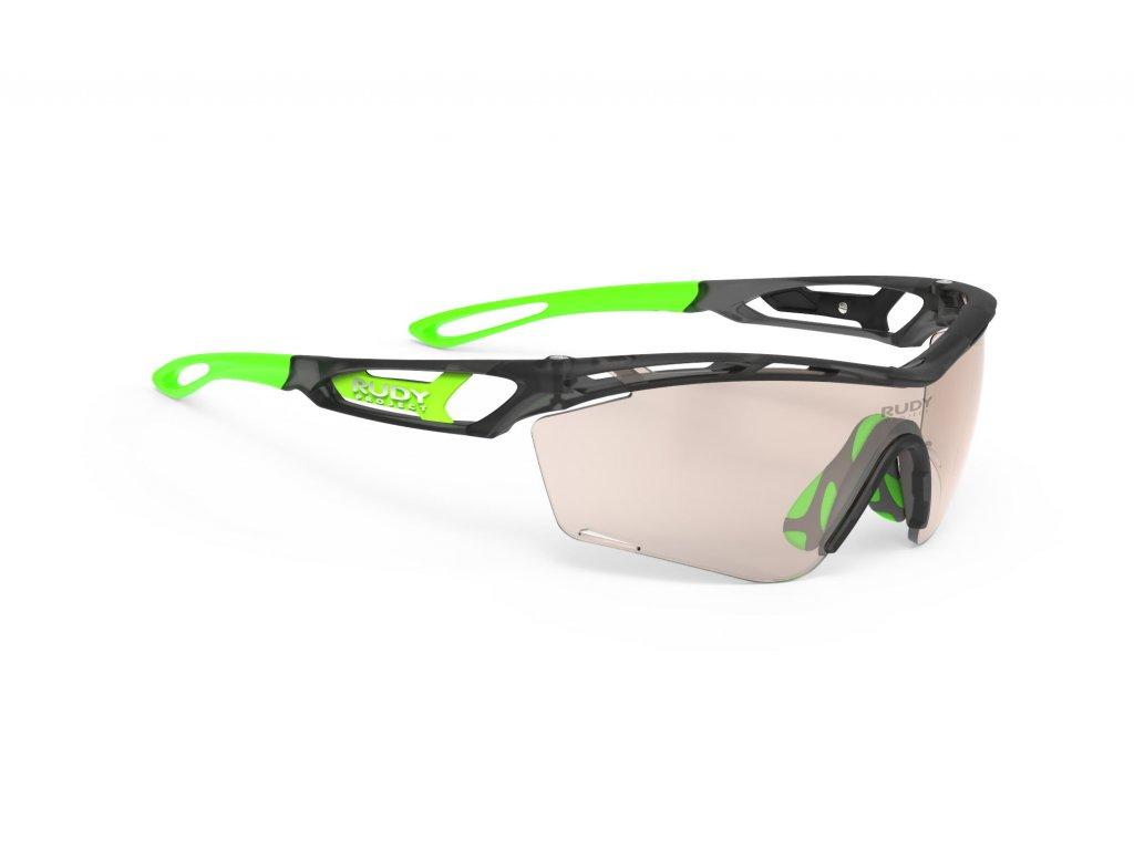 Brýle TRALYX SLIM - Ice Graphite Matte/ImpactX™ Photochromic 2 Laser Brown