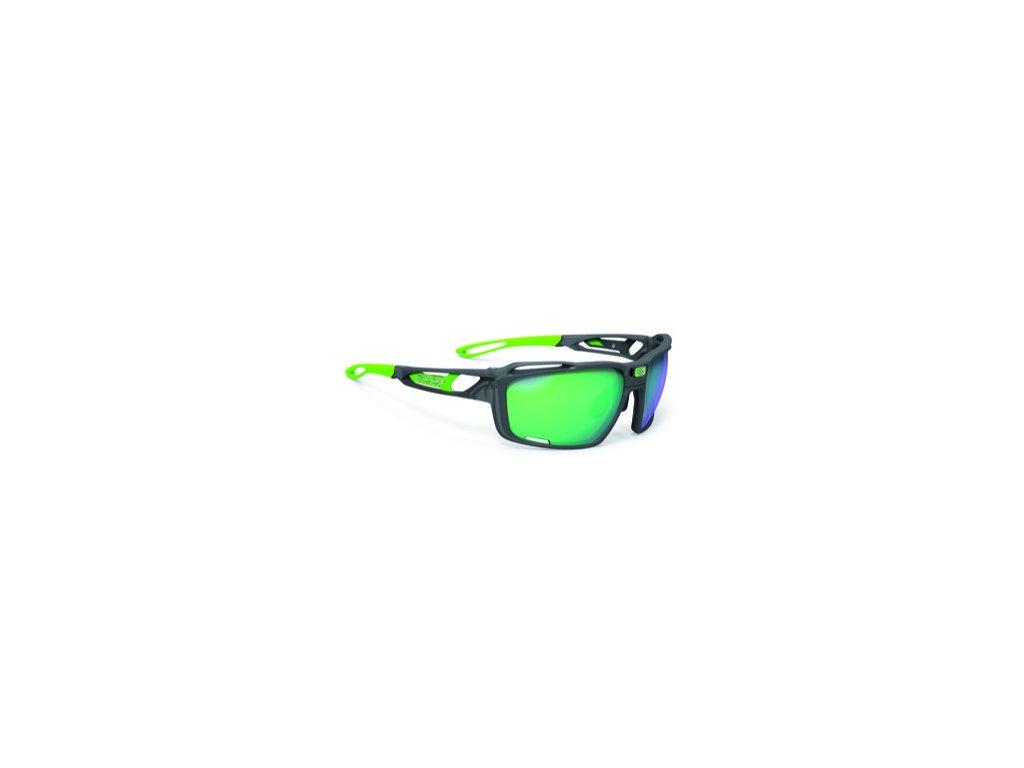 Brýle SINTRYX - Ice Graphite Matte/Polar 3FX HDR Multilaser Green