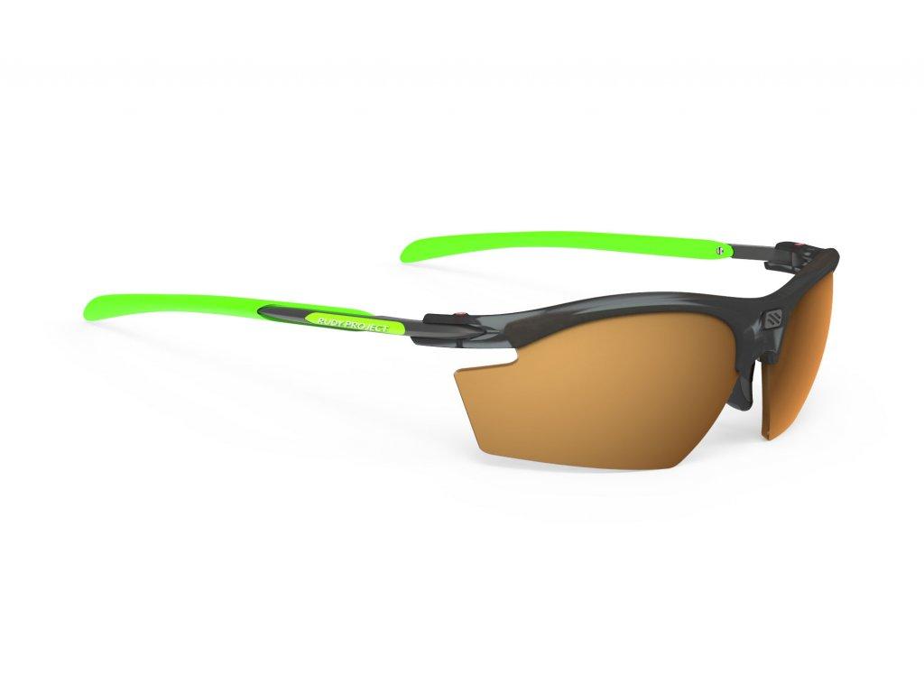 Brýle RYDON - Frozen Ash/RP Optics Hi-Contrast Bronze