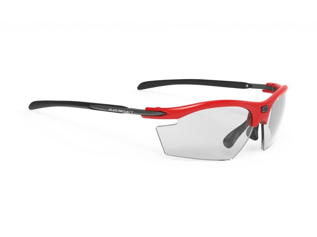 Brýle RYDON - Fire red gloss/impactX photochromic 2black
