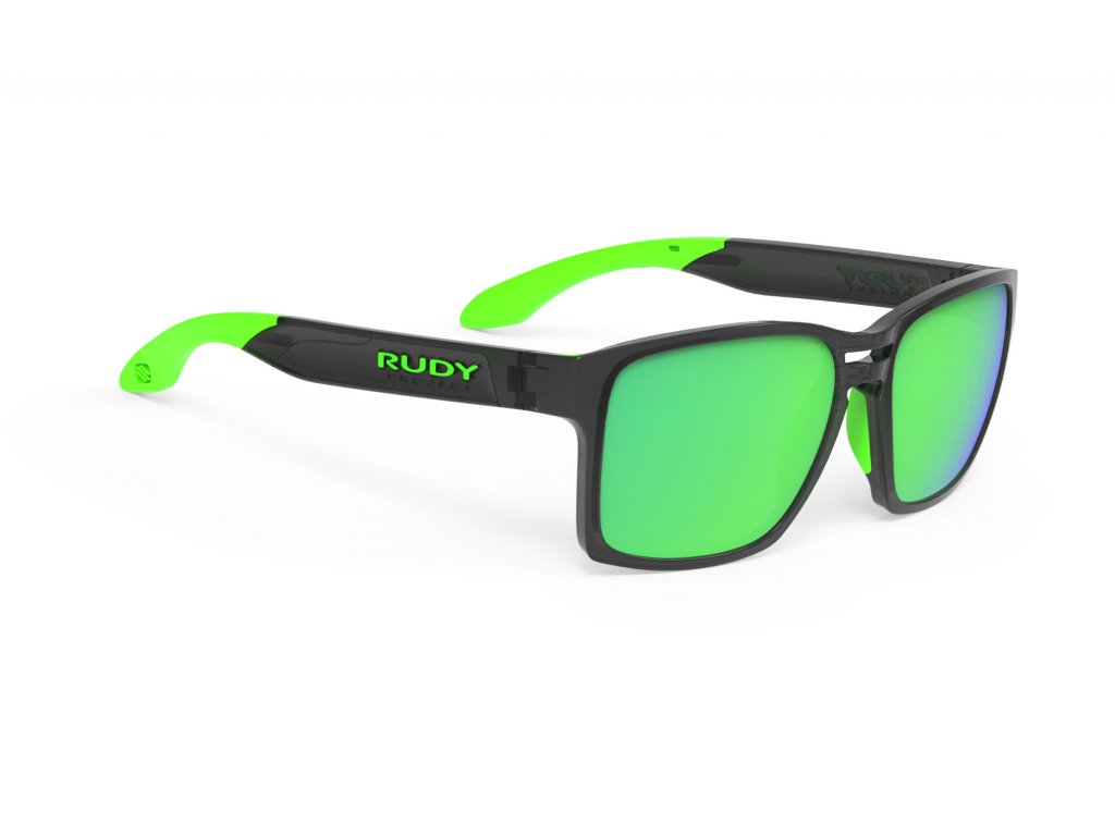 Brýle SPINAIR 57 - Crystal Graphite/Polar 3FX HDR Multilaser Green