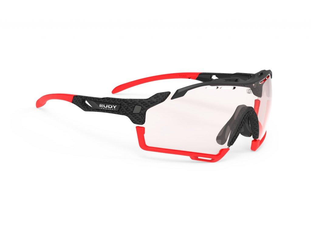 Brýle CUTLINE - Carbonium/ImpactX photochromatic 2 red