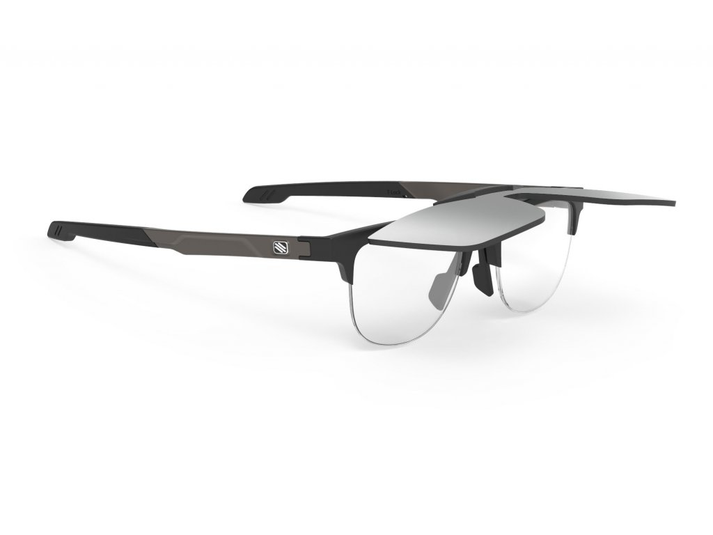 Brýle INKAS FLIP-UP - OC.INKAS B FLIP UP BLACK MATTE