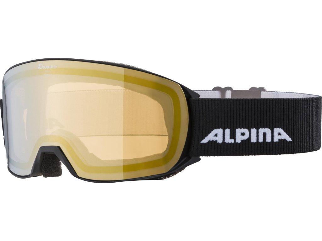 Lyžařské brýle Alpina Nakiska HM - black