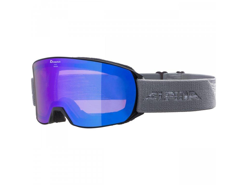 Lyžařské brýle Alpina Nakiska HM - black/grey