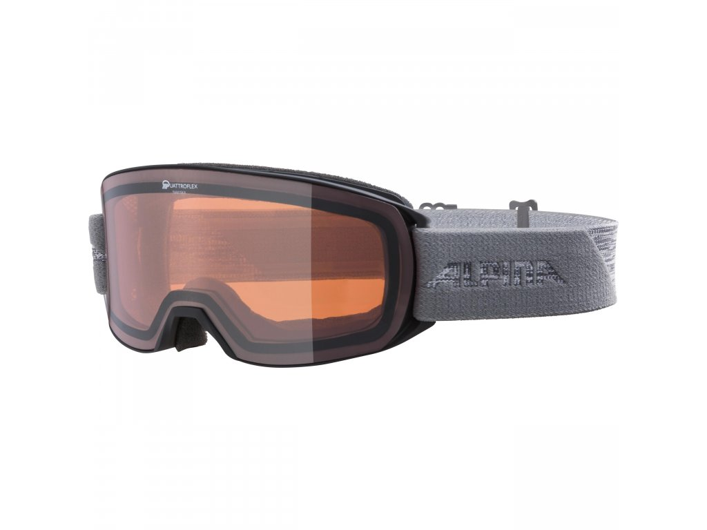 Lyžařské brýle Alpina Nakiska QH - black/grey