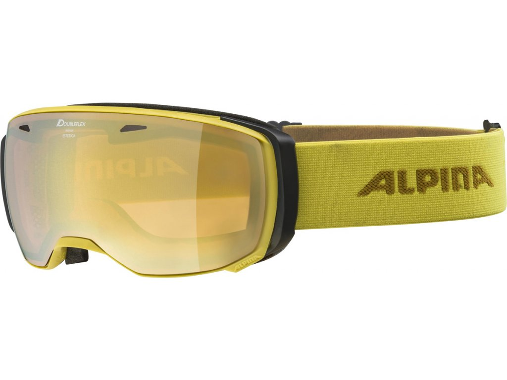 Lyžařské brýle Alpina Estetica HM - curry