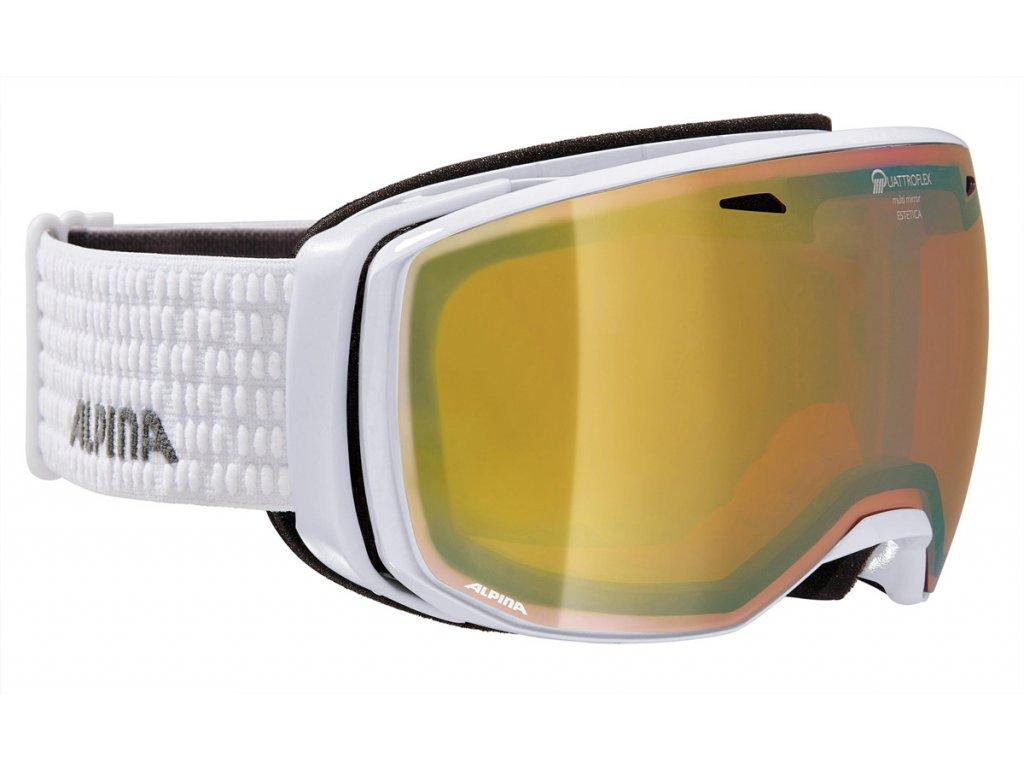 Lyžařské brýle Alpina Estetica QHM - white