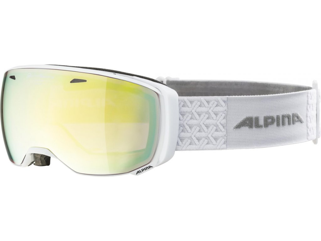 Lyžařské brýle Alpina Estetica QVM - white