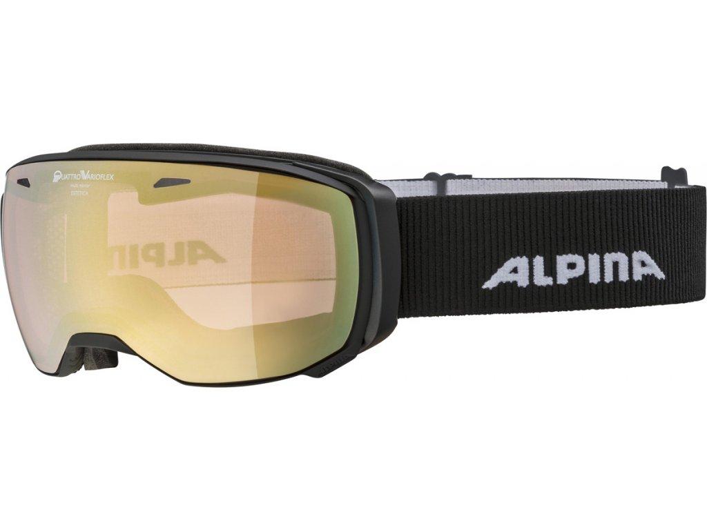 Lyžařské brýle Alpina Estetica QVM - black matt