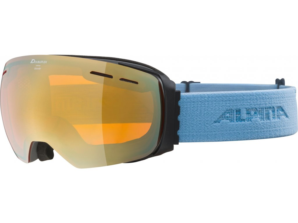 Lyžařské brýle Alpina Granby HM Q+VM - grey/skyblue