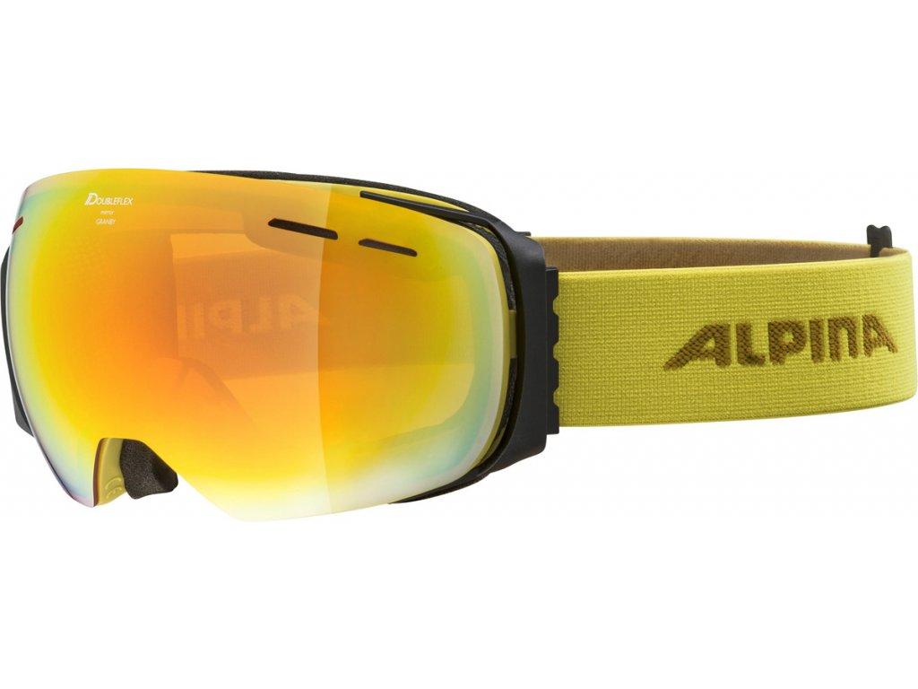 Lyžařské brýle Alpina Granby HM - curry