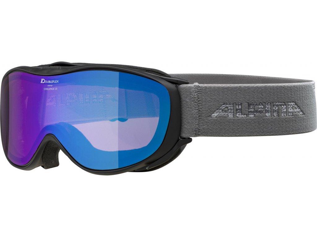 Lyžařské brýle Alpina Challenge 2.0 HM - black/grey