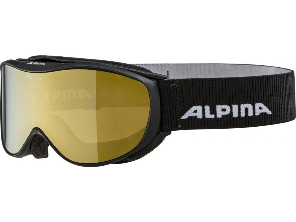 Lyžařské brýle Alpina Challenge 2.0 MM - black