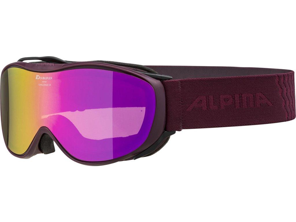 Lyžařské brýle Alpina Challenge 2.0 HM - cassis