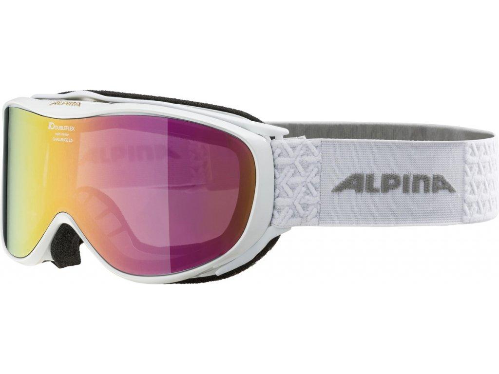 Lyžařské brýle Alpina Challenge 2.0 M - white