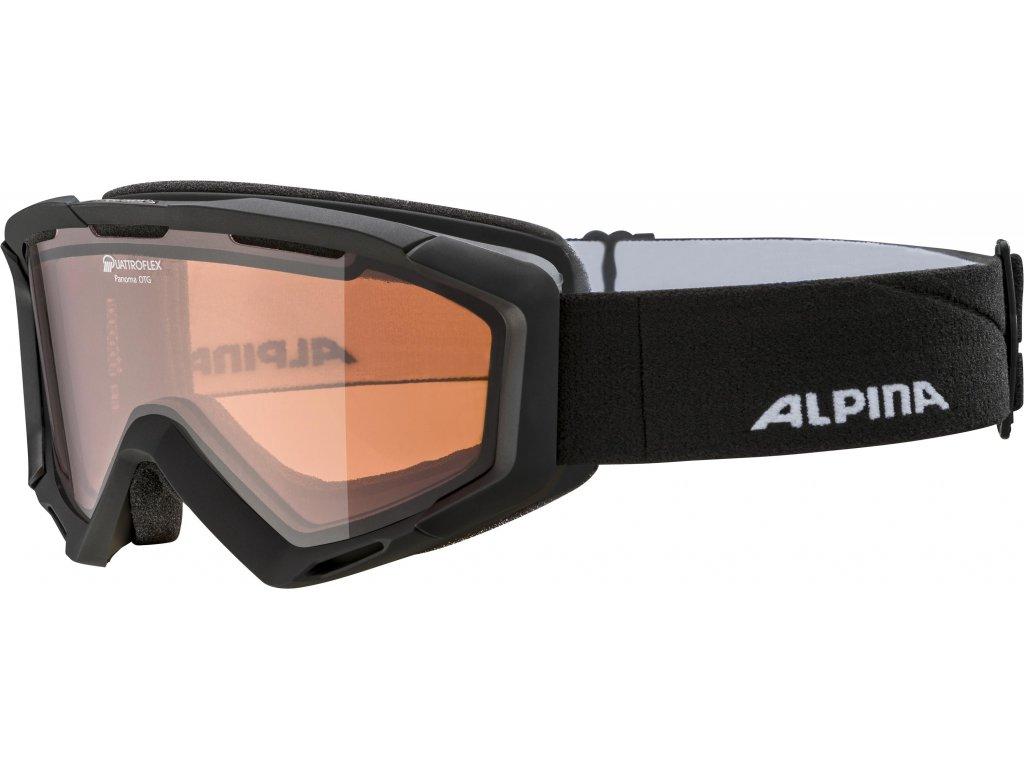 Lyžařské brýle Alpina Panoma QH - black