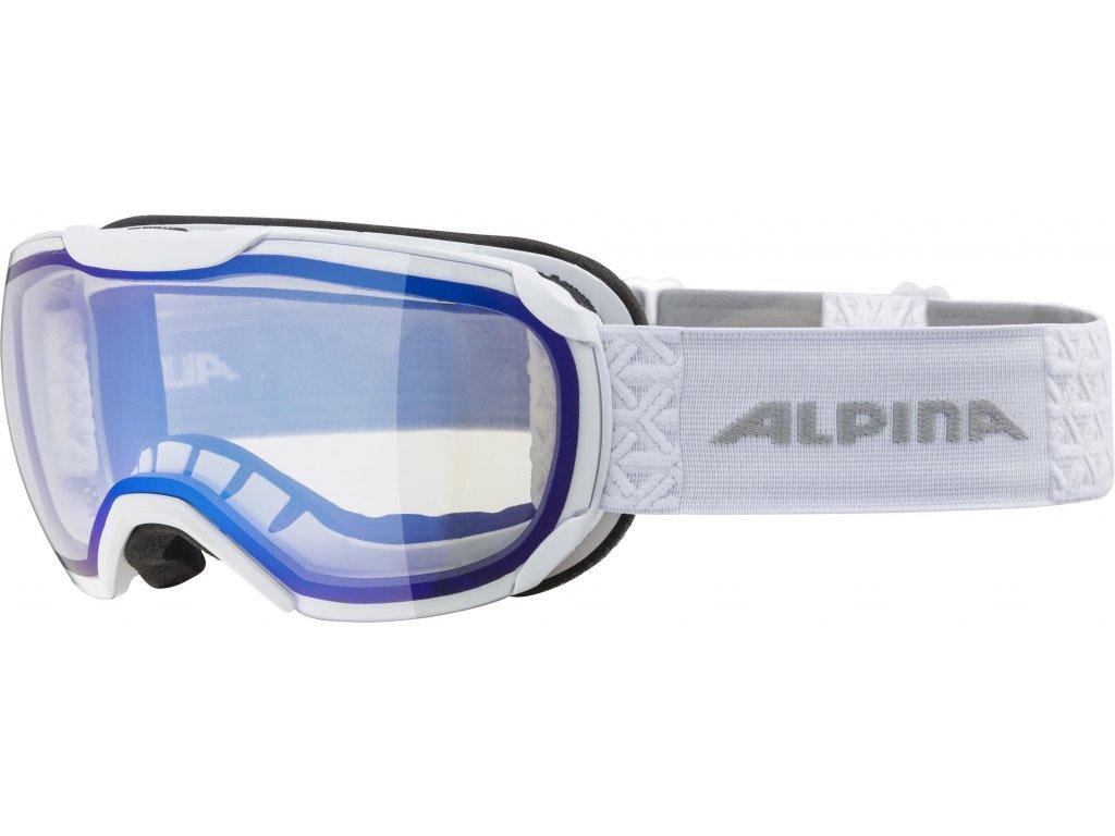 Lyžařské brýle Alpina Pheos S VM - white