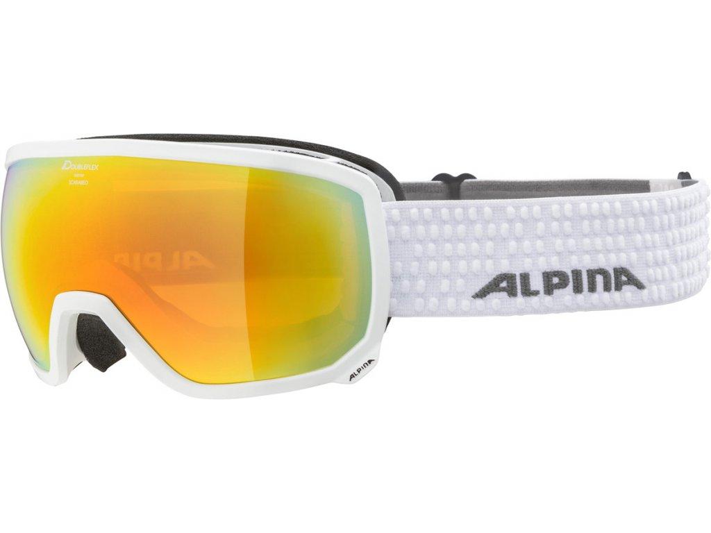 Lyžařské brýle Alpina Scarabeo HM - white