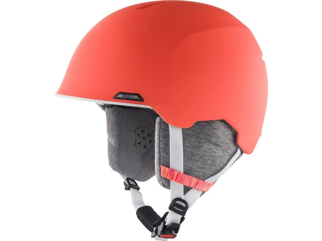 Lyžařská helma Alpina Albona - flamingo matt