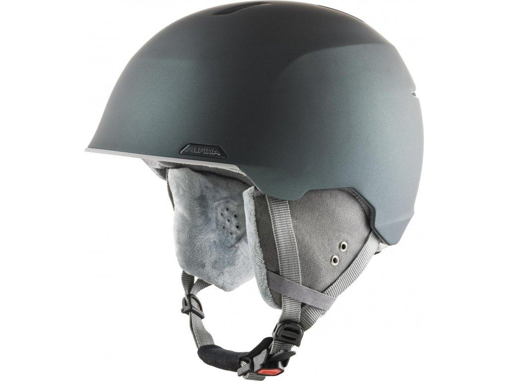 Lyžařská helma Alpina Albona - moss/green matt