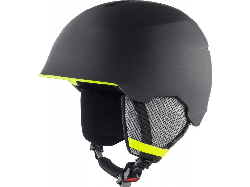 Dětská lyžařská helma Alpina Maroi JR - charcoal/neon matt