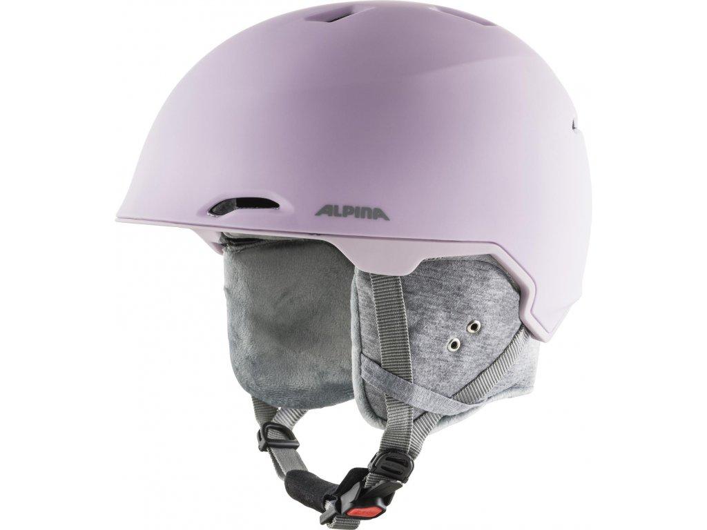 Lyžařská helma Alpina Maroi - light/rose matt
