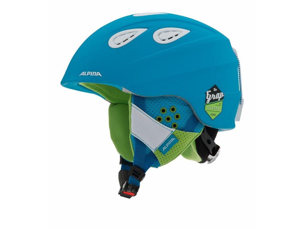 Lyžařská helma Alpina Grap 2.0 - blue matt