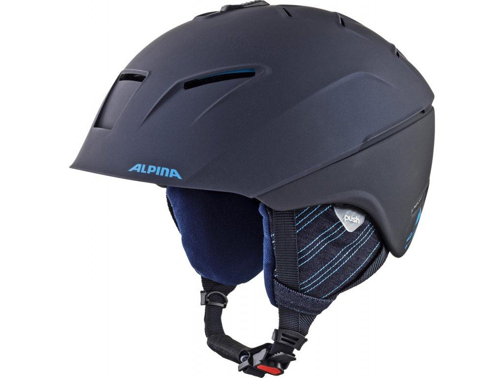 Lyžařská helma Alpina Cheos - nightblue/denim matt