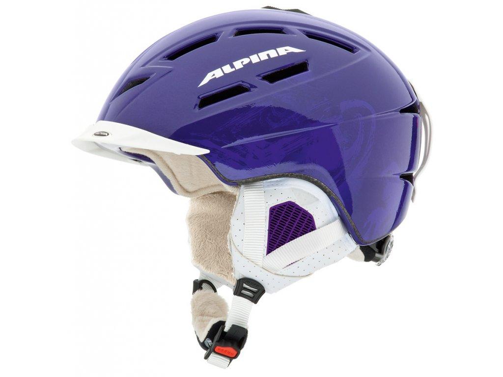 Lyžařská helma Alpina Chief Ten L - dark blue