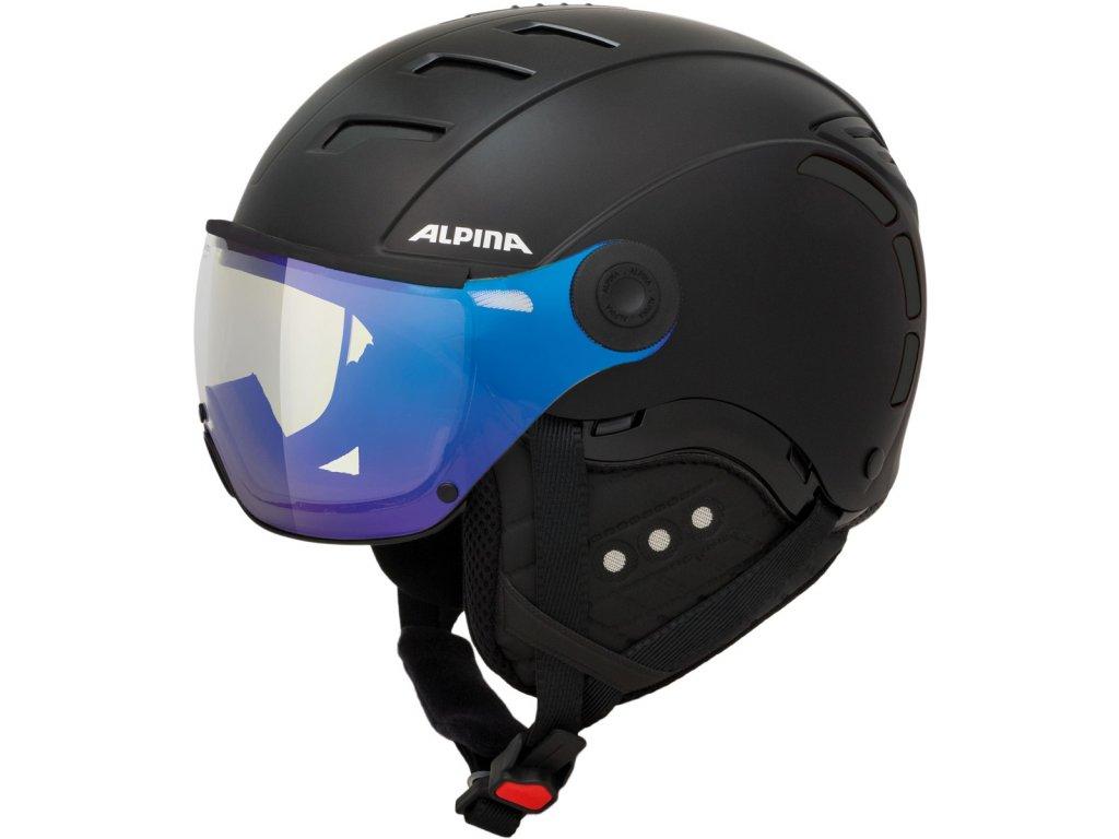 Lyžařská helma Alpina JUMP 2.0 VM - black matt