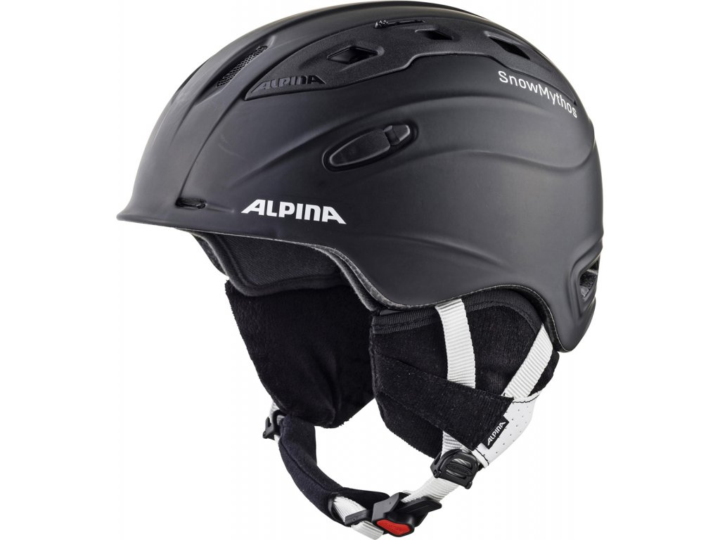 Lyžařská helma Alpina Snow Mythos - black matt