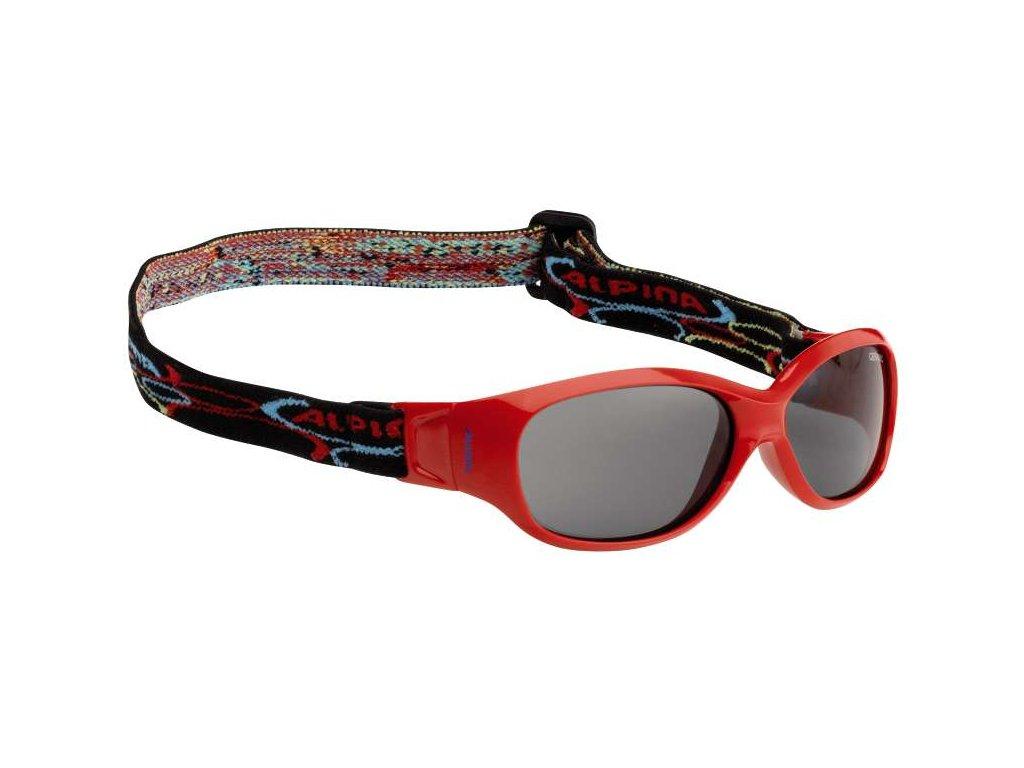 Dětské brýle Alpina Sports Flexxy Kids - red