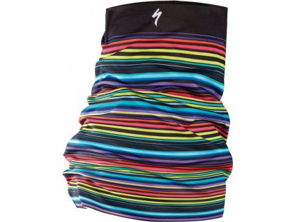 Specialized Printed Tubular Headwear Stripes Black