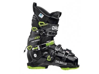 Pánské lyžařské boty Dalbello Panterra 100 GW MS - black/lime