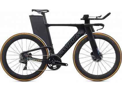 Specialized S-WORKS SHIV DISC Satin Carbon/Gloss Holographic Foil (Velikost rámu XS)