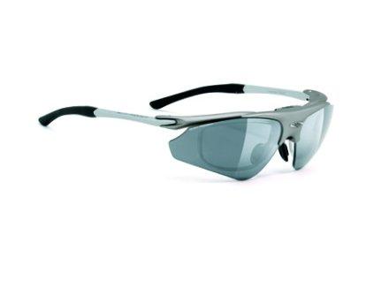 Sportovní dioptrické brýle EXCEPTION - Titanium/Smoke Black