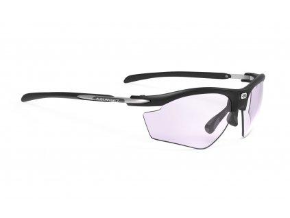 BRÝLE RYDON GOLF Black Matte- Impactx Photochromic 2 Laser Purple