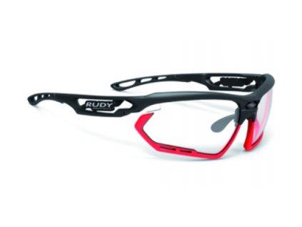 Sportovní sluneční brýle FOTONYK - Black Matte/ImpactX Photochromic 2 Black