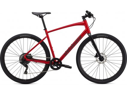 Specialized Sirrus X 2.0 Flo Red W/ Blue Ghost Pearl / Black / Satin Black