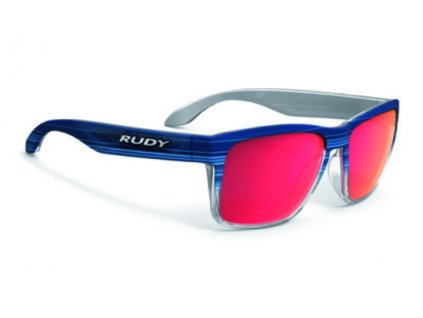 Active Lifestyle brýle SPINHAWK - Blue Streaked M./Polar 3FX HDR Multilaser Red