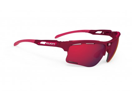 Sportovní sluneční brýle KEYBLADE - Merlot Matte/Multilaser Red