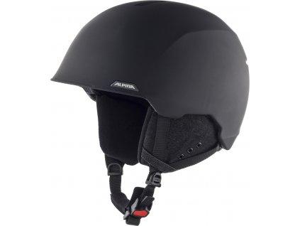 Lyžařská helma Alpina Albona - black matt