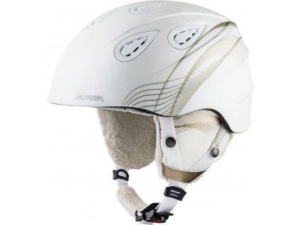 Lyžařská helma Alpina Grap 2.0 - white/prosecco matt