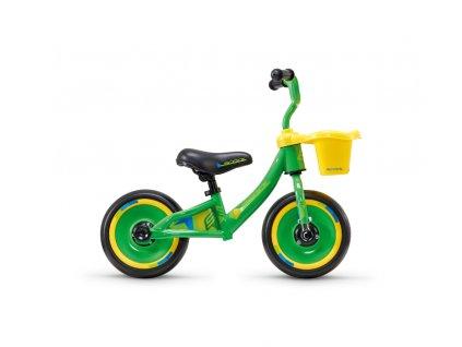 Dětské odrážedlo S'COOL pedeX 3v1 - zeleno/žlutá